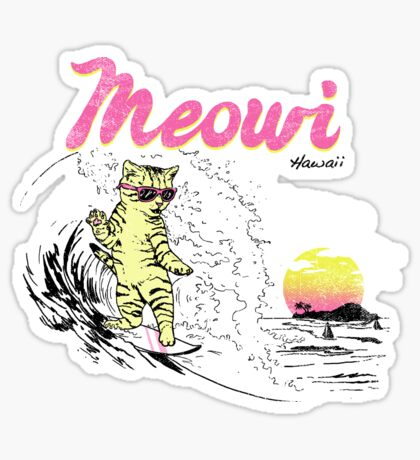 Meowi Sticker