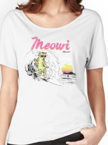 Meowi Women's Relaxed Fit T-Shirt