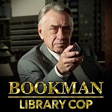 Bookman Library Cop by freestyleINK