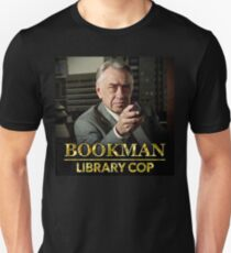 Bookman Library Cop Unisex T-Shirt