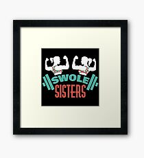 Swole Sisters Framed Print