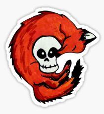 Fox & Scully Sticker