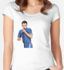 John Terry - Captain Leader Legend Women's Fitted Scoop T-Shirt