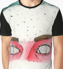 the Eyes of a Fighter Graphic T-Shirt
