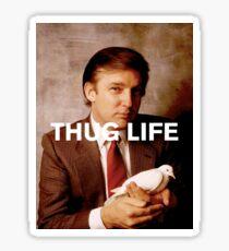 Throwback - Donald Trump Sticker