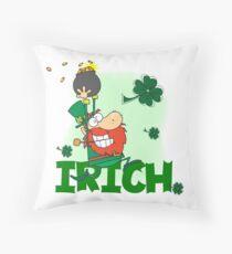 St. Pats Tag Kobold Irich Irisch Dekokissen