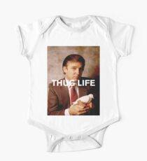 Throwback - Donald Trump One Piece - Short Sleeve