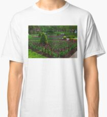 Royal Purple Tulips Classic T-Shirt