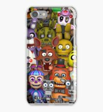 FNaF five 5 nights at Freddy's Game Gamer Gaming Cosplay Gift iPhone Case/Skin