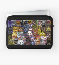 FNaF five 5 nights at Freddy's Game Gamer Gaming Cosplay Gift Laptop Sleeve