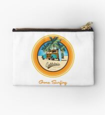 Woody Gone Surfing California Studio Pouch