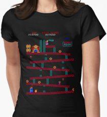 Donkey Kong Arcade Women's Fitted T-Shirt