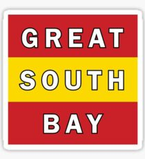 great south bay Sticker
