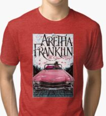 Aretha Franklin. The Queen of Soul Tri-blend T-Shirt