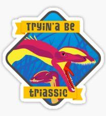 Triassic Lophostropheus Sticker