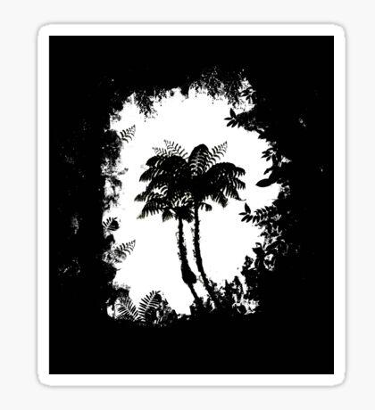 Treeferns Sticker