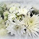 White Floral Bouquet by Elaine Bawden