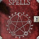 Spellbook Red by TadPatterson