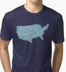 Therefore Go Tri-blend T-Shirt