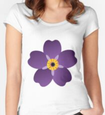 Armenian-Forget Me Not Flower  Women's Fitted Scoop T-Shirt