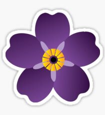 Armenian-Forget Me Not Flower  Sticker