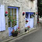 A French Village by Irene  Burdell