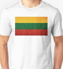 Lithuania Flag Unisex T-Shirt