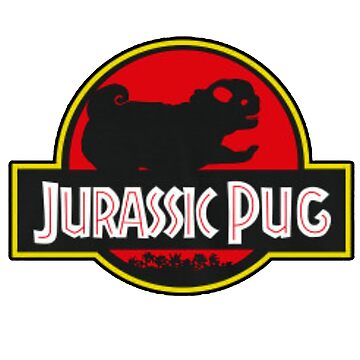 Jurassic Pug by ArtNacha