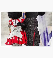 Mickey and Minnie Poster