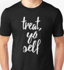 Behandle dich selbst Slim Fit T-Shirt