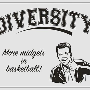 Diversity - Midgets in Basketball by AntiLiberalArt