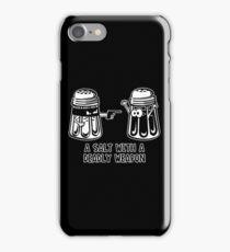 salt pepper iPhone Case/Skin