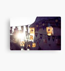Floating Lights Canvas Print