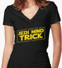 mind trick Women's Fitted V-Neck T-Shirt