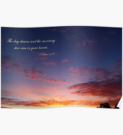The day dawns Poster