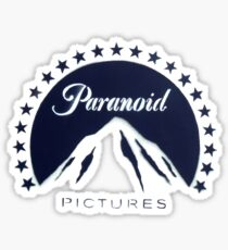 Banksy Paranoid Pictures Sticker