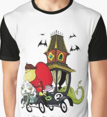 Gruesome Twosome Wacky Races Graphic T-Shirt
