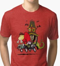 Gruesome Twosome Wacky Races Tri-blend T-Shirt