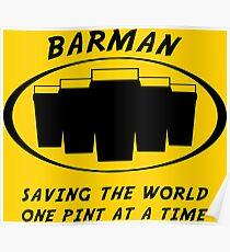 Barman Poster