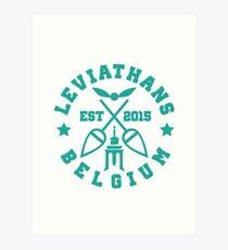 Liege leviathans quidditch - varsity Art Print