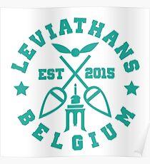 Liege leviathans quidditch - varsity Poster