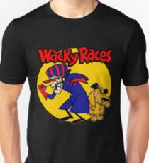 Wacky Races Boy and Dog T-Shirt
