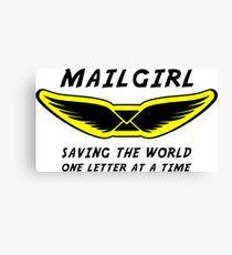 Mailgirl Canvas Print