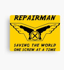 Repairman Canvas Print