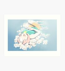 Graceful Slumber Art Print