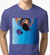 Hot Air Balloon Flight Tri-blend T-Shirt