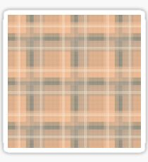 Checkered pattern in yellow with gray colors. Sticker