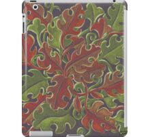 Oak leaves - Tataro pattern iPad Case/Skin