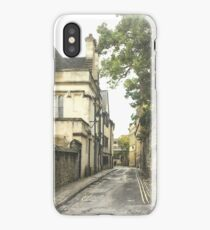 Old street in Oxford, England iPhone Case/Skin