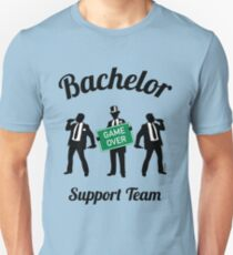 Bachelor Game Over Support Team (Stag Party) T-Shirt